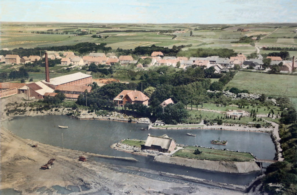 Teglværket omkring 1952-53-lille
